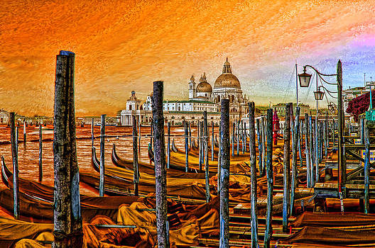 Grand Canal Venice by Graham Hawcroft pixsellpix