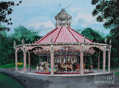 Grand Carousel by Alan Wolfram