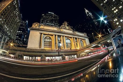 Grand Central Station and Chrysler Building by Daniel Portalatin Photography