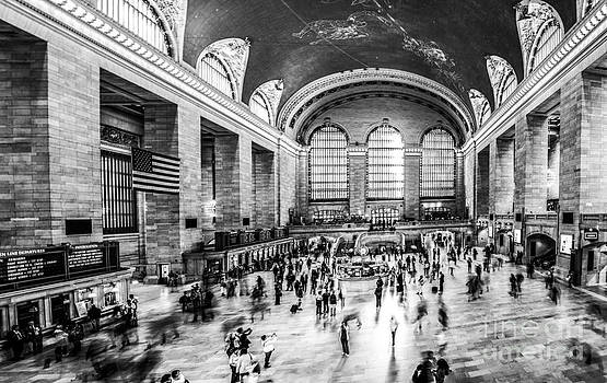 Hannes Cmarits - Grand Central Station -pano bw