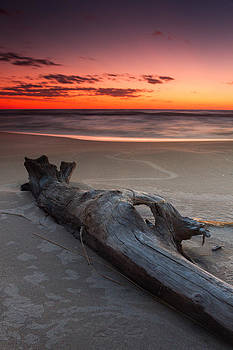 Grand Haven Sunset 1 by Rob  Whitney