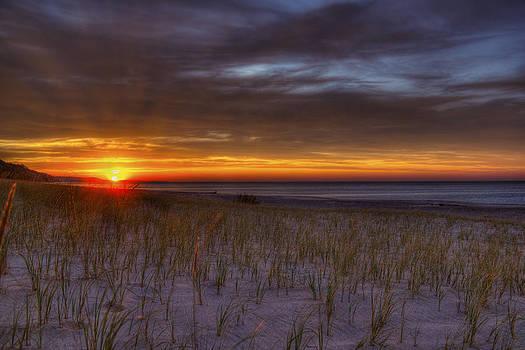 Grand Marais Sunset by Megan Noble