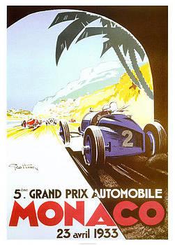 Grand Prix Monaco 1933 by Vintage