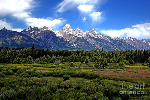 Grand Tetons by Fred L Gardner