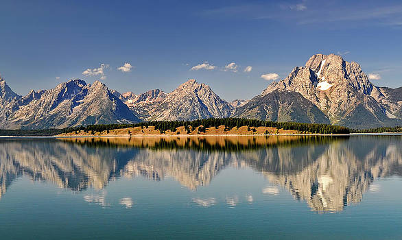 Grand Tetons by Geraldine Alexander