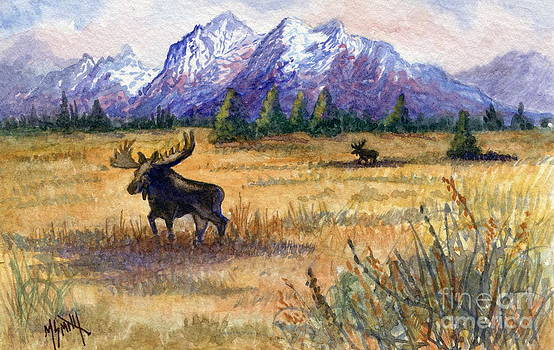 Marilyn Smith - Grand Tetons Moose
