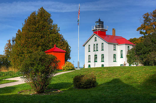 Grand Traverse Lighthouse by Megan Noble