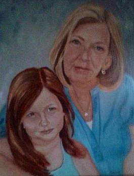 Grandma's Girl by Sharon Schultz