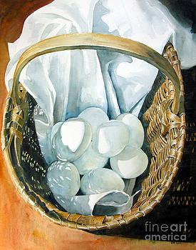 Grandmother's Egg Basket by Elizabeth  McRorie