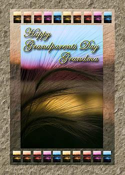 Jeanette K - Grandparents Day Grandma Grass Sunset