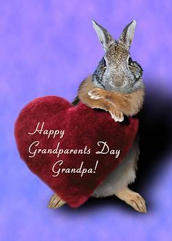 Jeanette K - Grandparents Day Grandpa Bunny