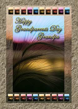 Jeanette K - Grandparents Day Grandpa Grass Sunset