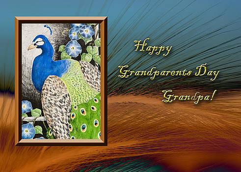 Jeanette K - Grandparents Day Grandpa Peacock