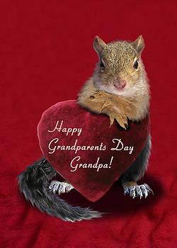 Jeanette K - Grandparents Day Grandpa Squirrel
