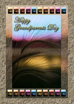 Jeanette K - Grandparents Day Grass Sunset