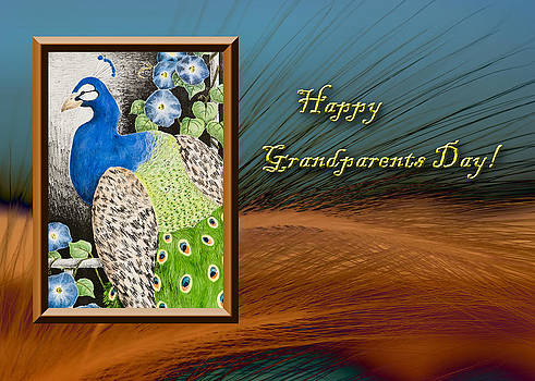 Jeanette K - Grandparents Day Peacock