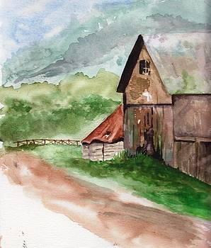 Grandpa's Barn by Sandi Stonebraker
