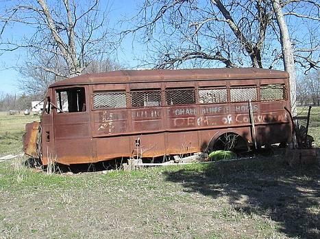 Grandpas School Bus by Rosalie Klidies