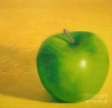 Granny Smith Apple by Rachel Dunkin