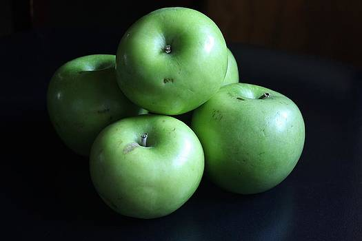 Granny Smiths by Janet Wagstaff