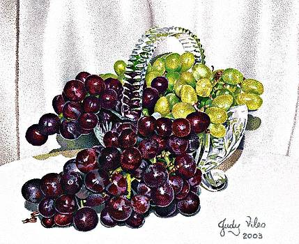 Grapes and grapes by Judy Skaltsounis