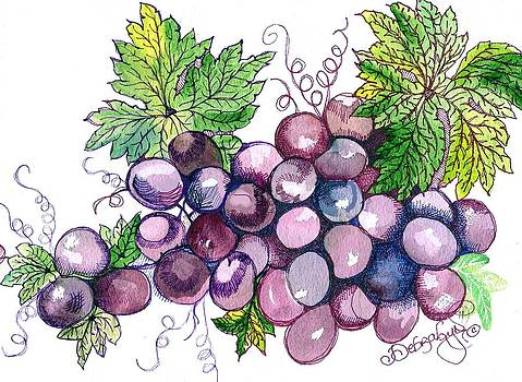 Grapes by Debralyn Skidmore