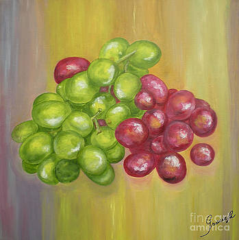 Grapes by Graciela Castro