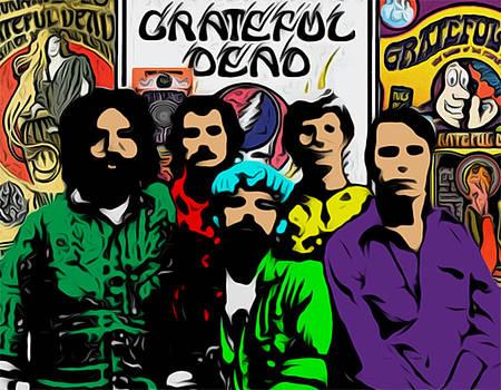 Grateful Dead by GR Cotler