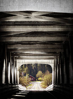 Grave Creek Covered Bridge by Melanie Lankford Photography