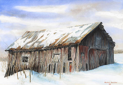Graves Road Barn by Marshall Bannister