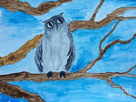Gray Owl by Karleen Kareem