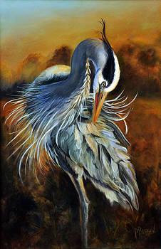 Great Blue Morning by Pamela Bergen