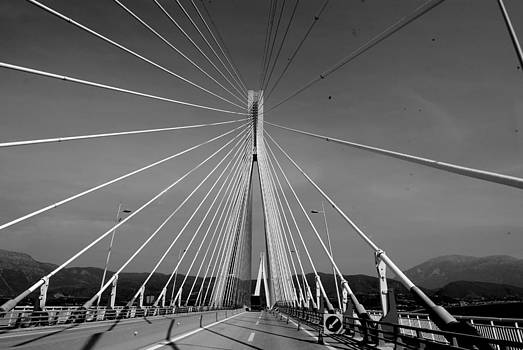 Greek Bridge by Virginia Cortland