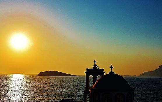 Greek glow by Catherine Davies