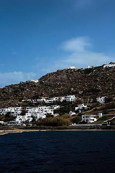 Greek Isle Mykonos by Al Blount