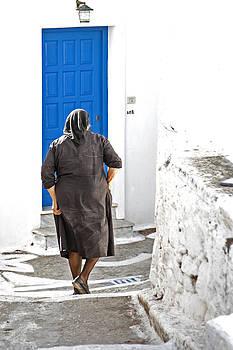 Greek woman by Frits Selier