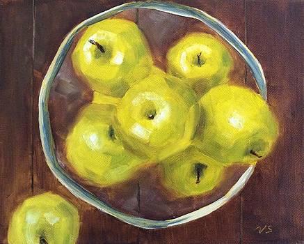 Green Apples by Velma Serrano