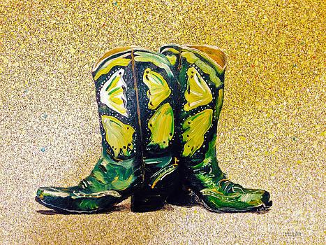 Green Boots by Mayhem Mediums
