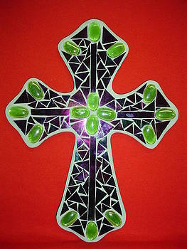 Green cross by Fabiola Rodriguez