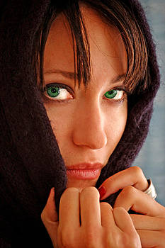 Green Eyed Beauty by Jon Van Gilder