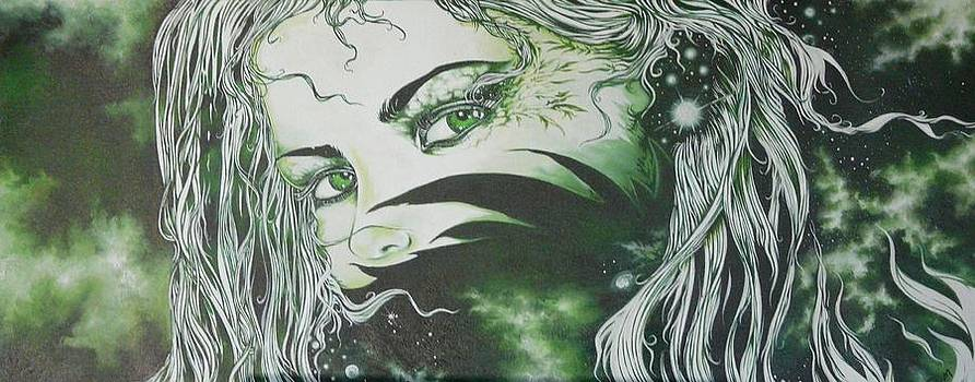 Green Greener by Federico  De muro