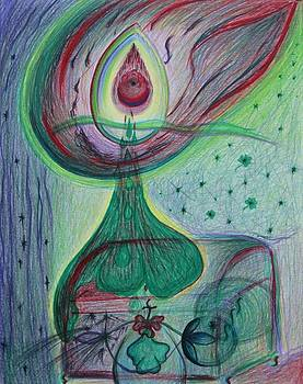 Green Heart by Elena Soldatkina