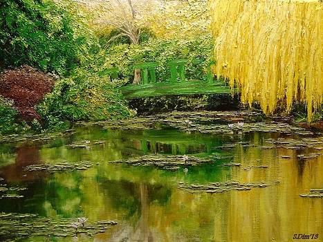 Green lake by Svetla Dimitrova