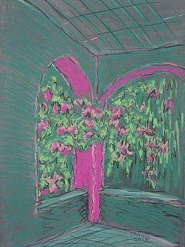 Green Patio by Marcia Meade