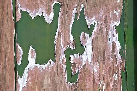 David Letts - Green Peeling Paint