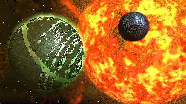 Green Planet by Erik Tanghe