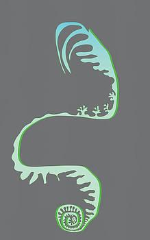 Green Spiral Evolution by Kevin McLaughlin
