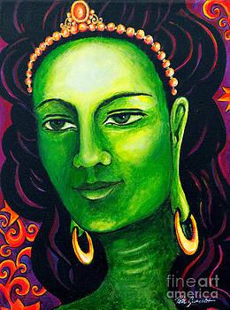 Green Tara the Swift One by Peta Garnaut