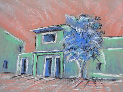 Green Village by Marcia Meade