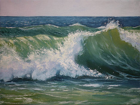 Green wave by Olga Yug